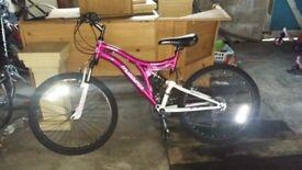 24inch muddy fox girls mountain bike