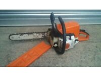 sthil ms230c chainsaw