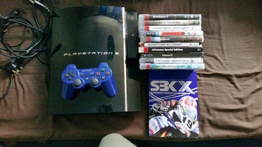 Playstation 3 - 60GB - PS2 Compatible model   in Bridlington, East  Yorkshire   Gumtree