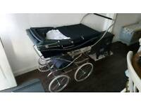 Silver Cross hard bodied pram - vintage classic