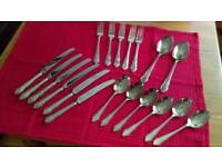 Cutlery, Silver Plated