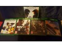 Gears 4, Forza Horizon 3, Mafia 3, Overwatch, Halo 5 Xbox one, all brand new and sealed.