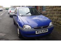Vauxhall Corsa 1.0 B Spares Repairs 55K miles Starts and Drives - NO MOT
