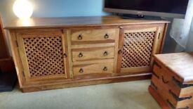 Beautiful solid wood sideboard