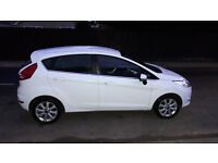 ford fiesta 1.25 zetec new mot and service low miles 40k