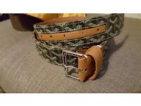 GOYARD brown belt size 95cm Rare
