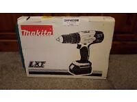 Makita DHP453SM drill with charger 18v