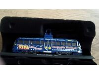 Brand New and Boxed die cast Models, Red Double Decker bus , Police Van J2 , 2 X Trams