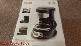 SWAN 750 ML COFFEE MAKER