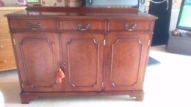 Victorian look sideboard. Great condition