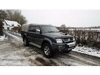2005 MITSUBISHI L200 WARRIOR 2.5 DIESEL DOUBLE CAB PICK UP 4X4 NICE CLEAN TRUCK