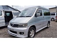 2002 AERO Mazda Bongo AFT 4 Berth FRESH IMPORT 2.5 V6 PETROL RUST FREE FROM JAPAN