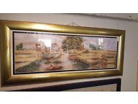 Print of Sohan River Scene