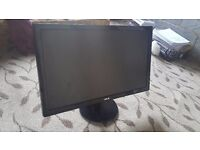 """ASUS VE247H Monitor 23.6"""" LED FHD 1920x1080 2ms 300cd/m2 Built-in Speakers HDMI"""