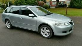 LONG MOT+1 OWNER + CRUISE CONTROL + MAZDA 6 TS2 1999cc+SILVER +HPI CLEAR+2 REMOTE KEYS+SER HISTORY