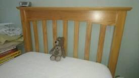 M&S Single bed with memory foam mattress