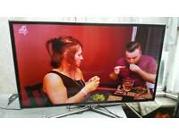 "46 "" Samsung smart led LCD tv full hd USB, wifi 3D glasses with built-in freeview"