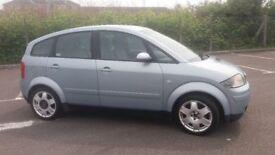 2001(Y)AUDI A2 1.4 SE MET BLUE,NICE SPEC,GREAT RUNNER,CLEAN CAR