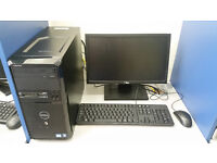 Dell Vostro 270, Intel core i3 3.40 GHz, 8GB RAM, 1000GB HDD, WIFI, Windows 10 PRO, HDMI, monitor 19