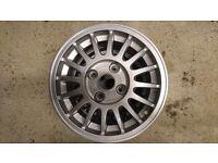 audi quattro original alloy wheels just been refurbished