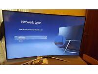 "SAMSUNG 40"" 40K6300 CURVED Smart ULTRA SLIM HD TV,built in Wifi,Freeview HD,2016 model"