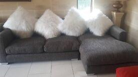Mega comfy corner sofa
