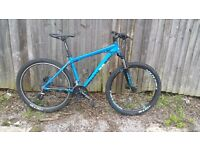 18/5 mens Diamondback mountain bike 27.5 wheels good condition good working order bargain