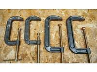 LARGE G CLAMPS
