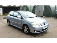 E12 Toyota Corolla 15 inch alloy wheels and tyres