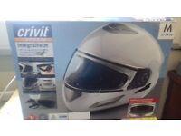 Motor bike helmet. New and unused.