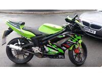 Rieju 50cc motorbike