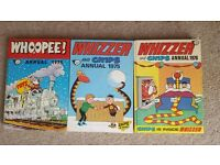 Whizzer and Chips Annual x 2 (1975 And 1976). Whopper annual 1975.