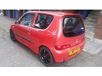 Fiat seicento 1.1 petrol manual