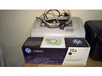 hp laser bw printer 1018 laserjet