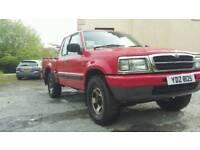 Madza 4x4 pickup