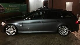 BMW 318i m sport tour *Added extras & full black leather*