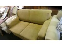 Brown Fabric Small Size Sofabed,Can Deliver
