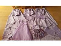 Bridesmaid dresses & accessories bundle