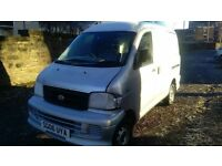 daihatsu extol 1.3 petrol manual 2006 06 plate suzuki carry