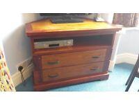 TV Corner Unit Solid Wood (No MDF) - New price