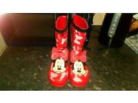 Minnie mouse wellies size 12