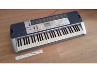 Casio LK-110 Keyboard / Piano with light up keys