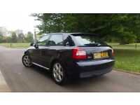 AUDI S3 1.8 T QUATTRO BAM 225 BHP!!!! 2002/52 £3250 ONLY 101K LOVELY CLASSIC £3250