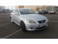 2006(56)LEXUS IS 220D MET SILVER,FSH,6 SPEED,180BHP,SLIGHTLY SMOKY HENCE PRICE