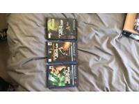 Ps2 Games Splinter Cell collection bundle