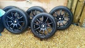 18 inch Audi Vw Mercedes alloy wheels 5x112