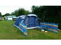 Tent sleeps 4-6