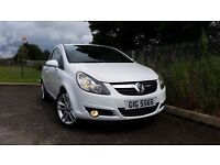 VAUXHALL CORSA SXI 1.2 IN WHITE FINANCE THIS CAR @ ONLY £ 20 PER WEEK!!!