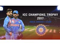 ICC Champions Trophy 2017 India Vs. South Africa (Silver tickets x4)