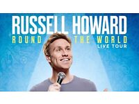 Two tickets Russell Howard Sunday 5th March 7.30pm Royal Albert Hall